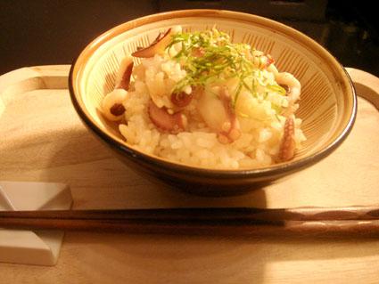 20080209 バターたこ飯.jpg