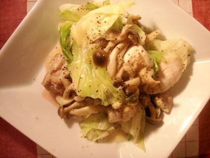 20081101 キャベツと鶏肉のマヨソース炒め3.jpg