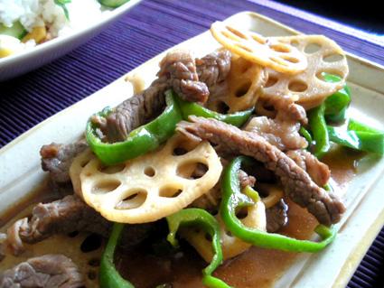 20130901 牛肉とピーマンのオイスターソース炒め2.jpg