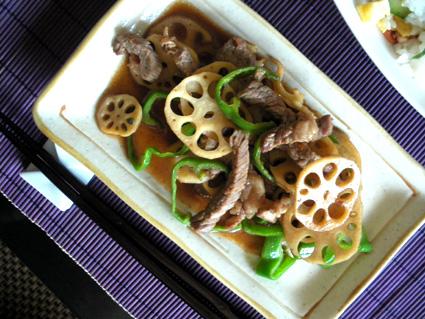 20130901 牛肉とピーマンのオイスターソース炒め3.jpg