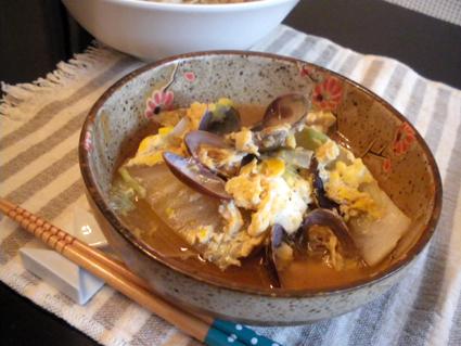 20131014 あさりの卵とじ.jpg