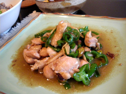 20131014 鶏肉とピーマン炒めナンプラー風.jpg