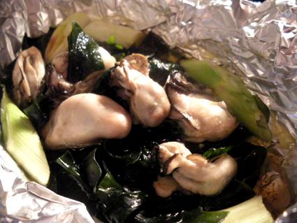 20131116 牡蠣とわかめのホイル焼き2.jpg