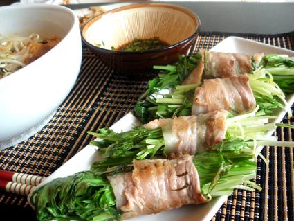 20131210 水菜の豚ばら巻き.jpg